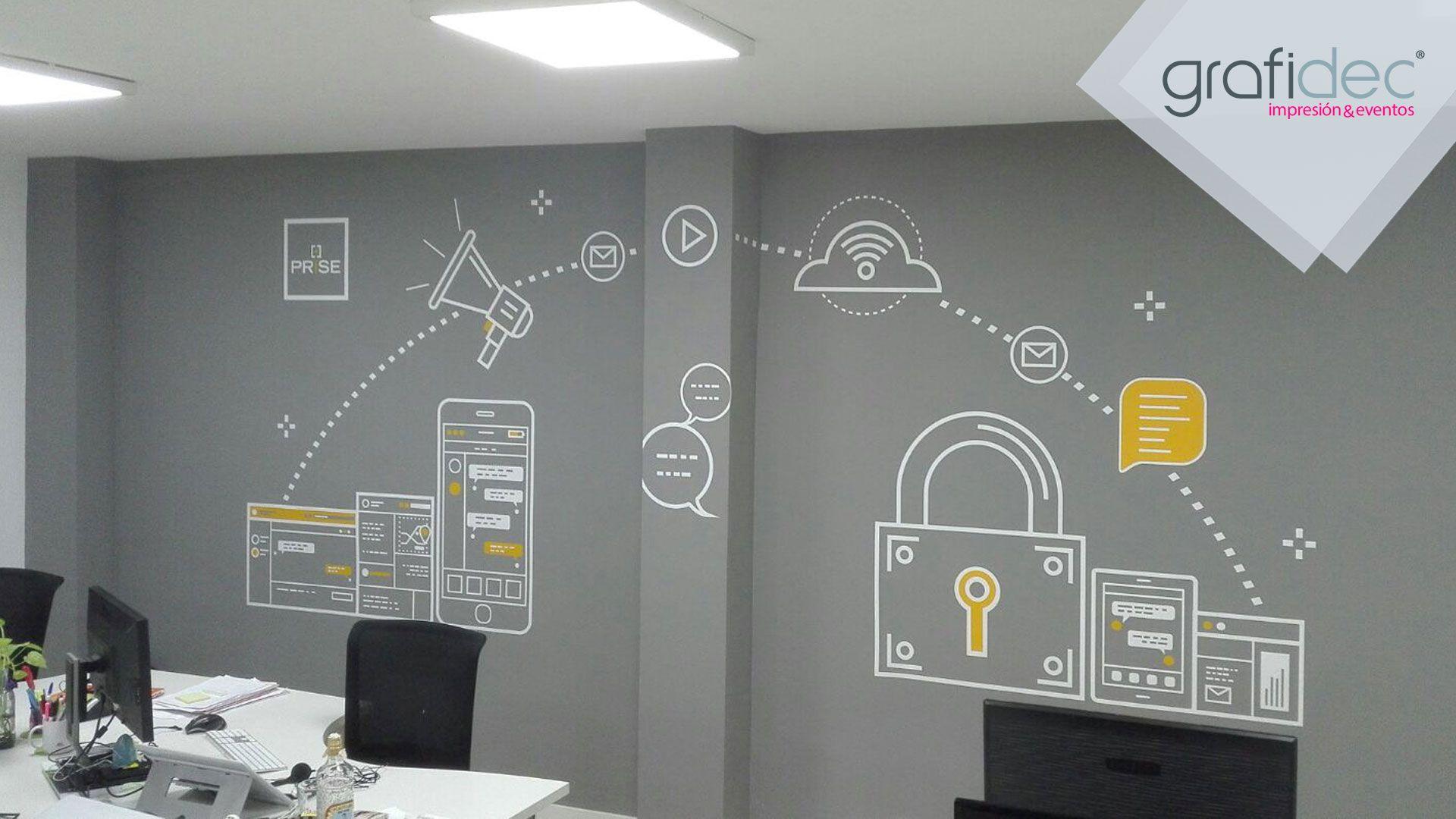 decoracion-oficina-PRISE-grafidec