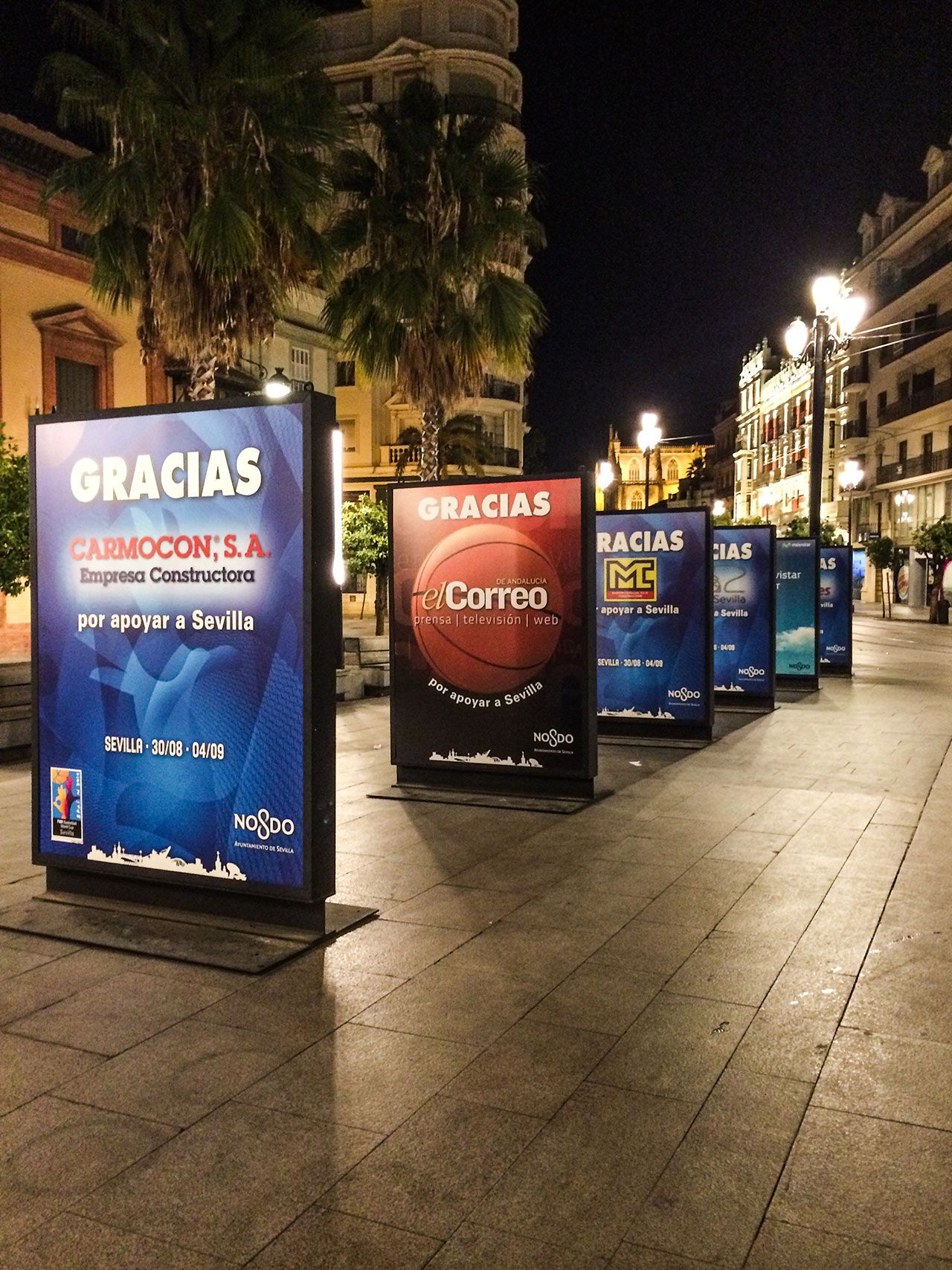 displays y expositores Sevilla
