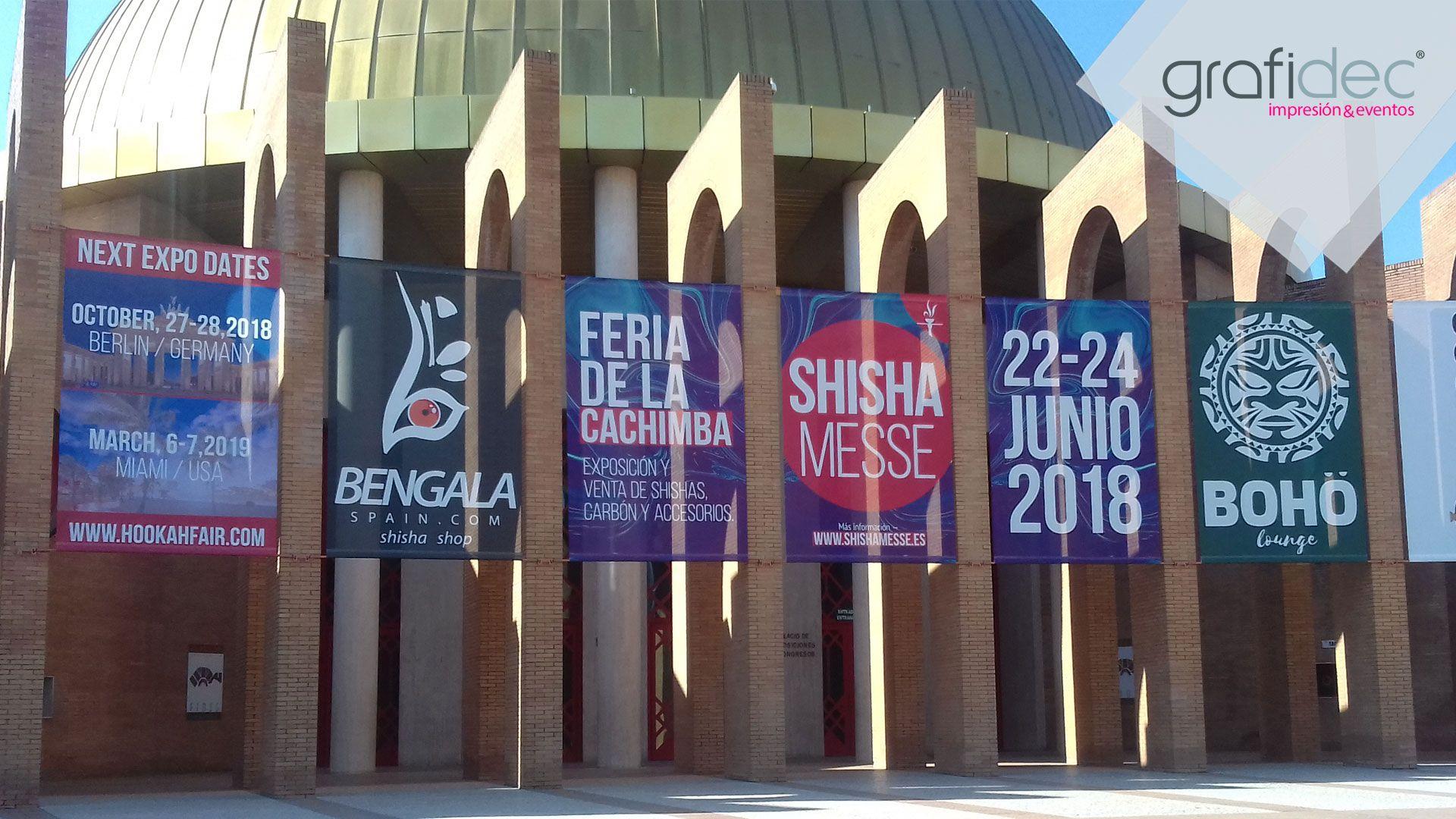 6b84242da11 Decoración Evento Feria Internacional de la Cachimba en FIBES